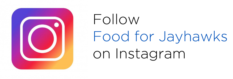 Follow Food for Jayhawks on Instagram