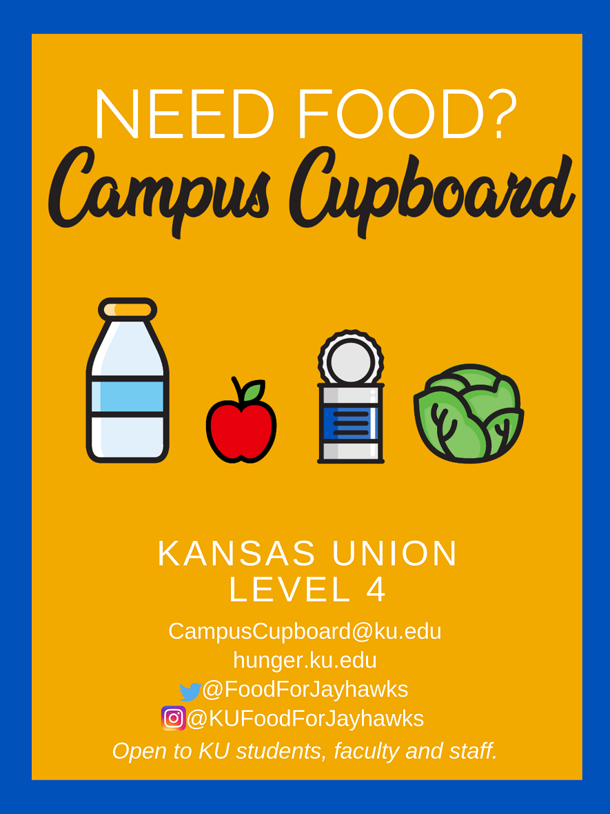 Campus Cupboard Poster